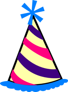 Birthday clipart hat.