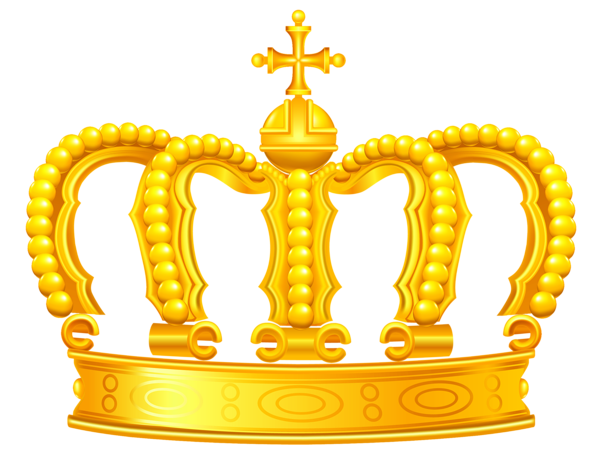 glitter crown png