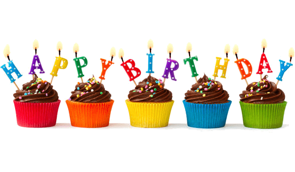 Birthday cupcake png. Happy cupcakes transparent stickpng