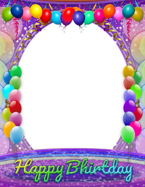 Birthday frame png. Happy transparent iphone backgrounds
