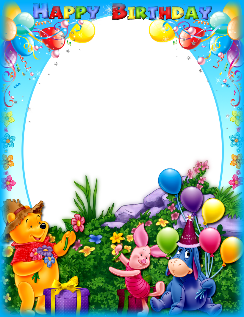 Birthday frame png. Free allcanwear org images