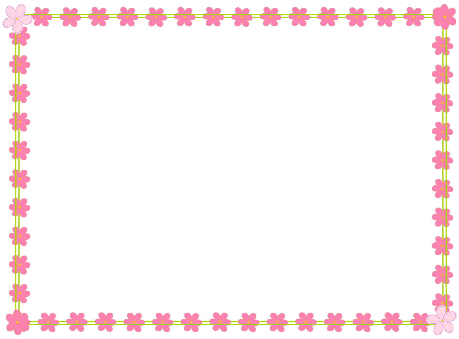 Birthday frames and borders png. Free download clip art