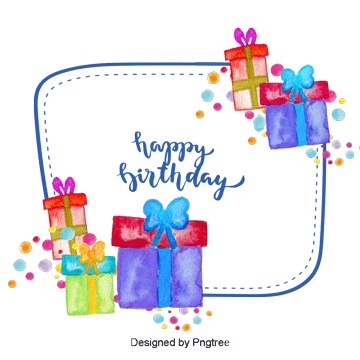 Birthday gift png. Gifts images download resources