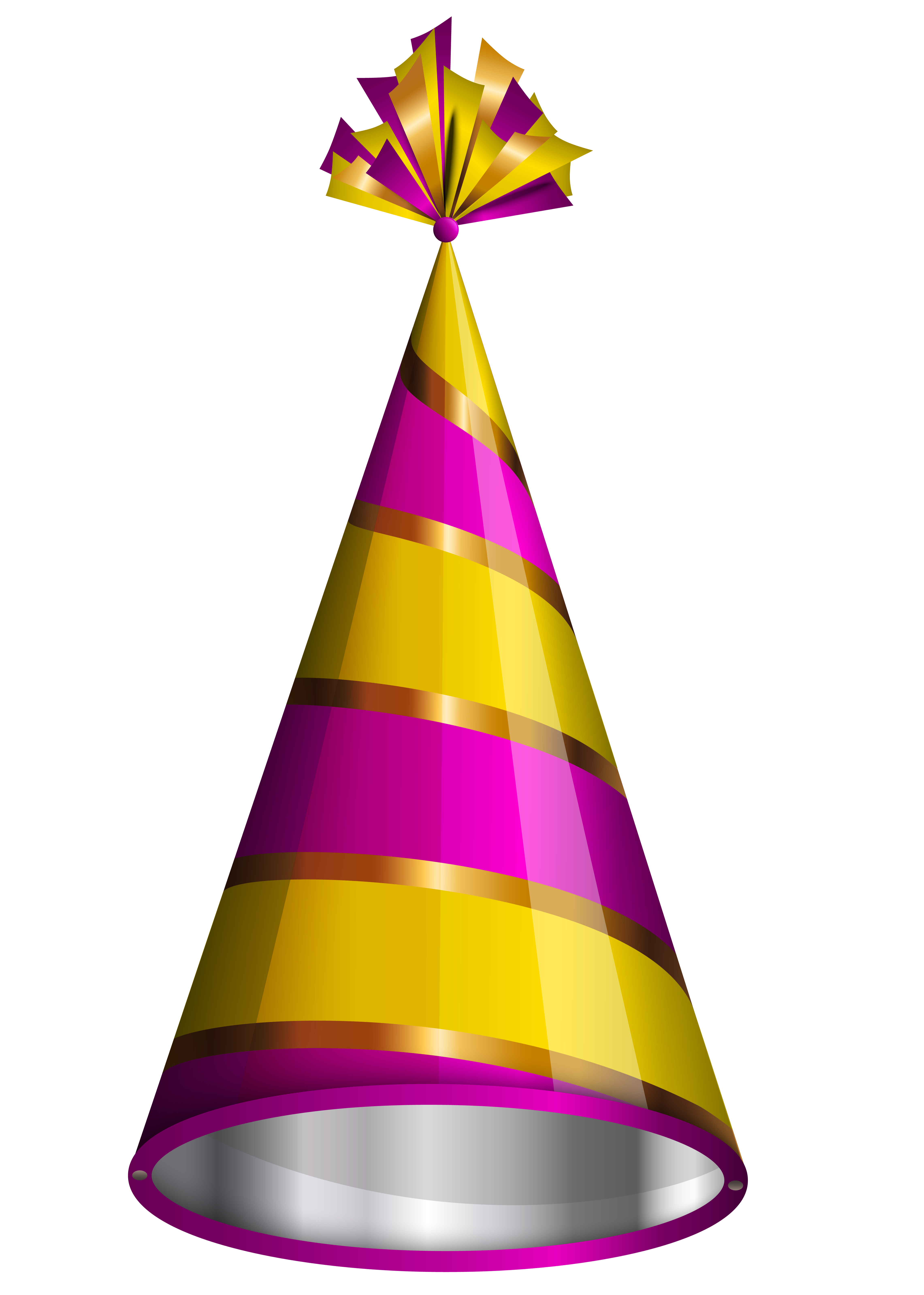 Party hats png. Birthday hat clipart image