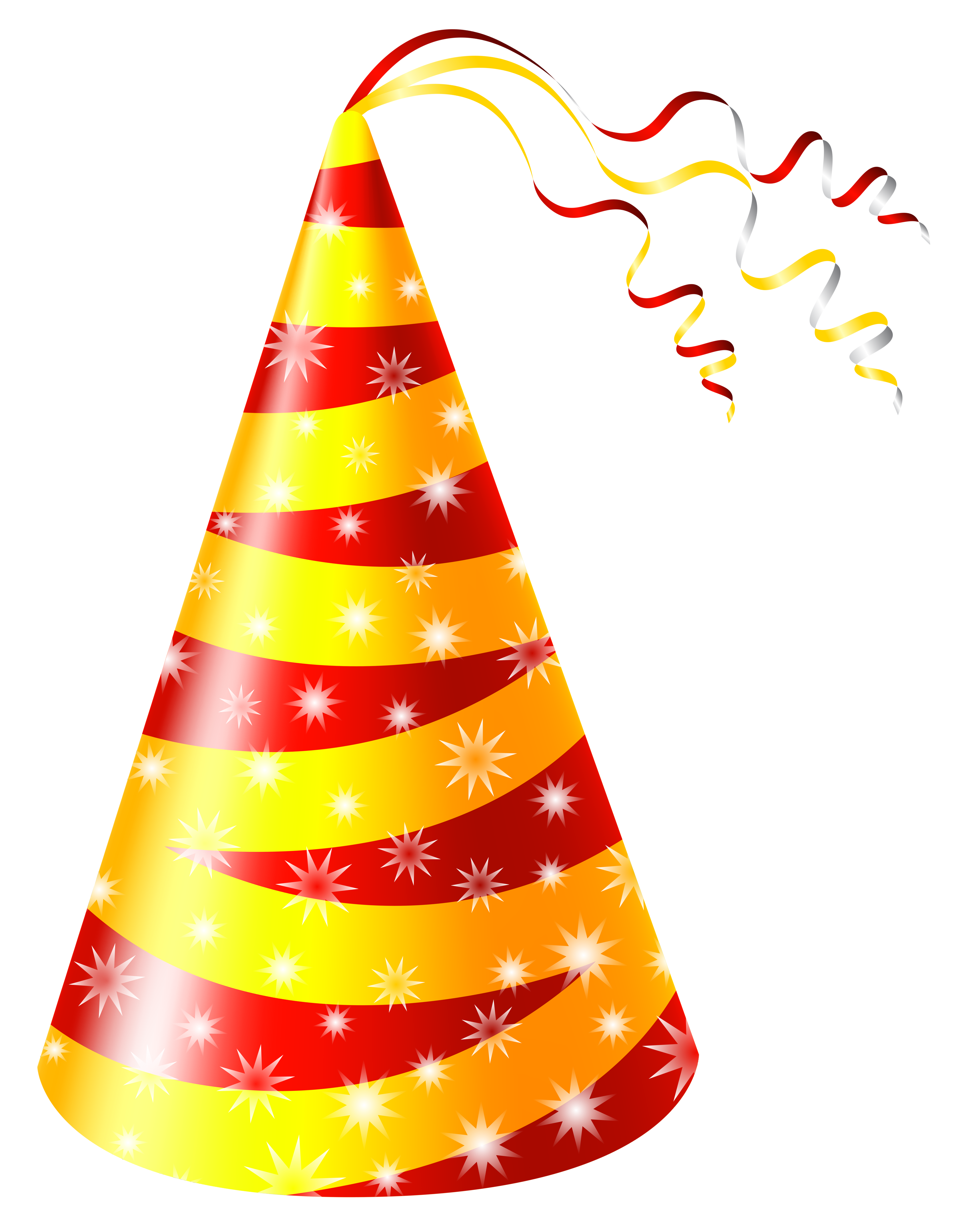 Birthday hat png transparent. Free images only yellow