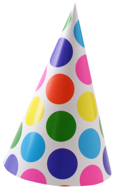 Birthday hat transparent png. Download free image and