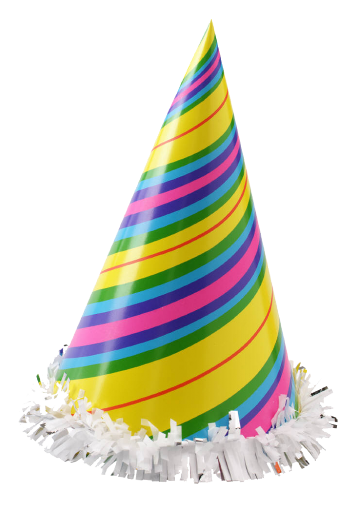 Vector sombrero transparent background. Party hat clip art