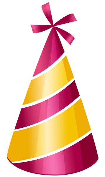 Birthday hat transparent png. Party clipart picture anivers