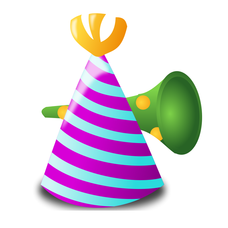 New years eve horn png