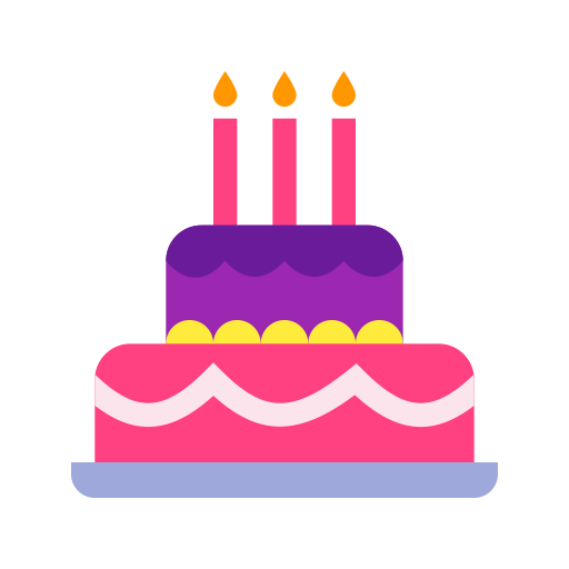 Birthday icons png. Download free and vector
