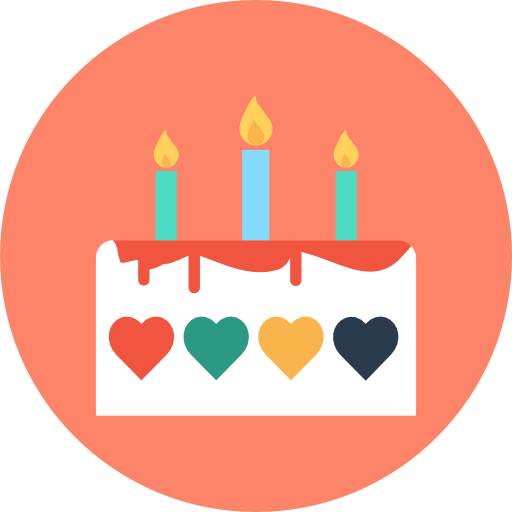 Birthday icons png. Cake free food icon