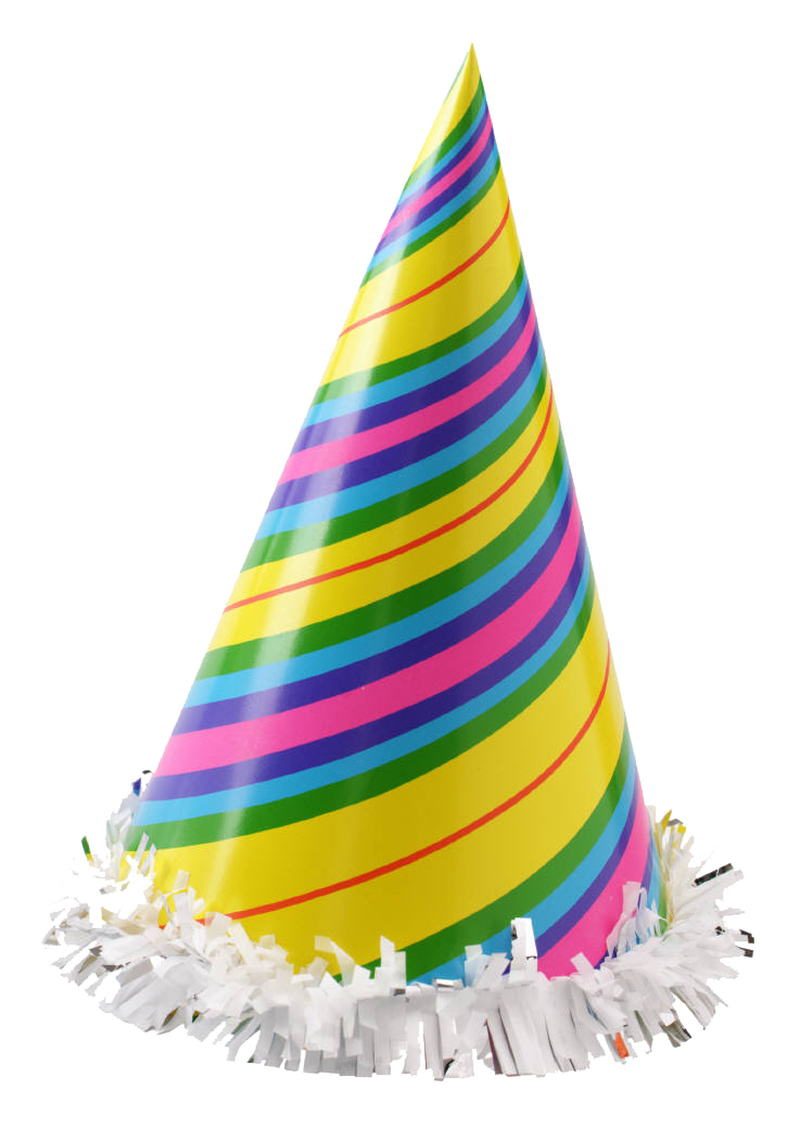 Birthday party hat png. Transparent background mart
