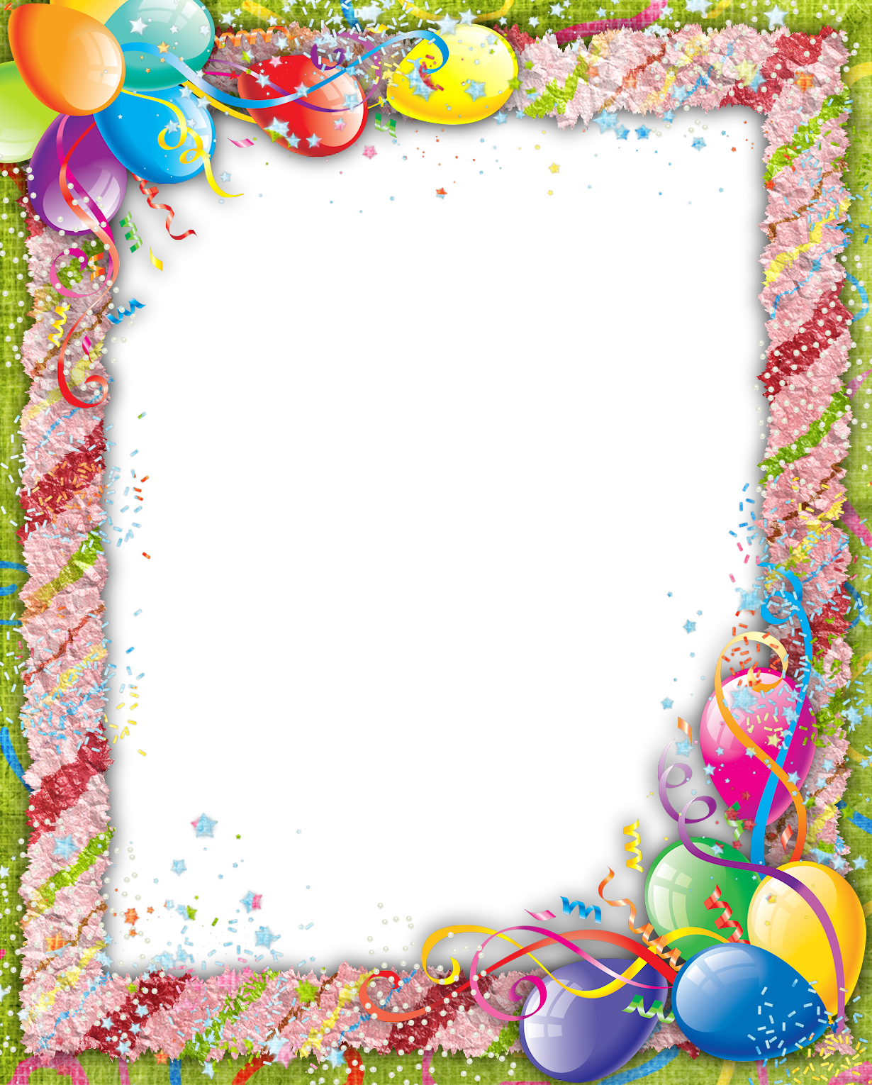 Birthday frames and borders png. Transparent frame gallery yopriceville
