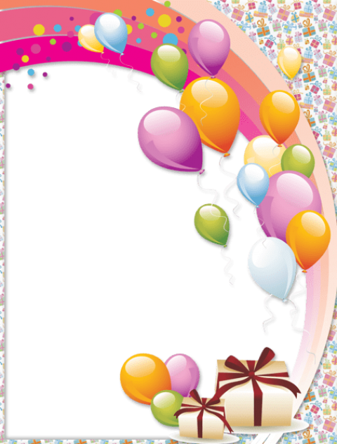 Birthday photo frame png. Transparent free images toppng
