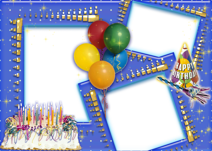 Birthday photo frame png. Collage transparent images pngio