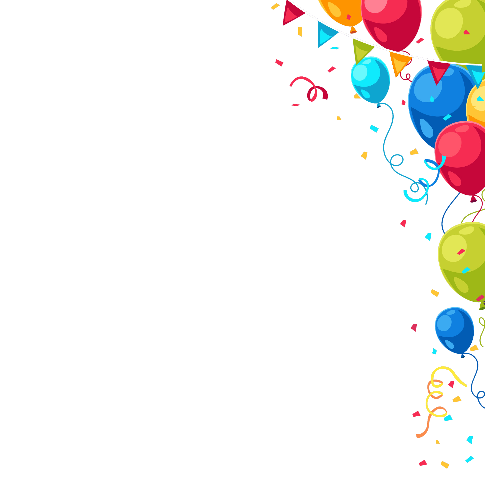 Birthday png. Happy balloons peoplepng com