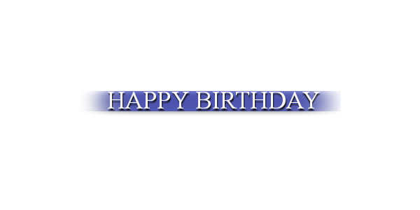Editing png effects. Happy birthday effect for