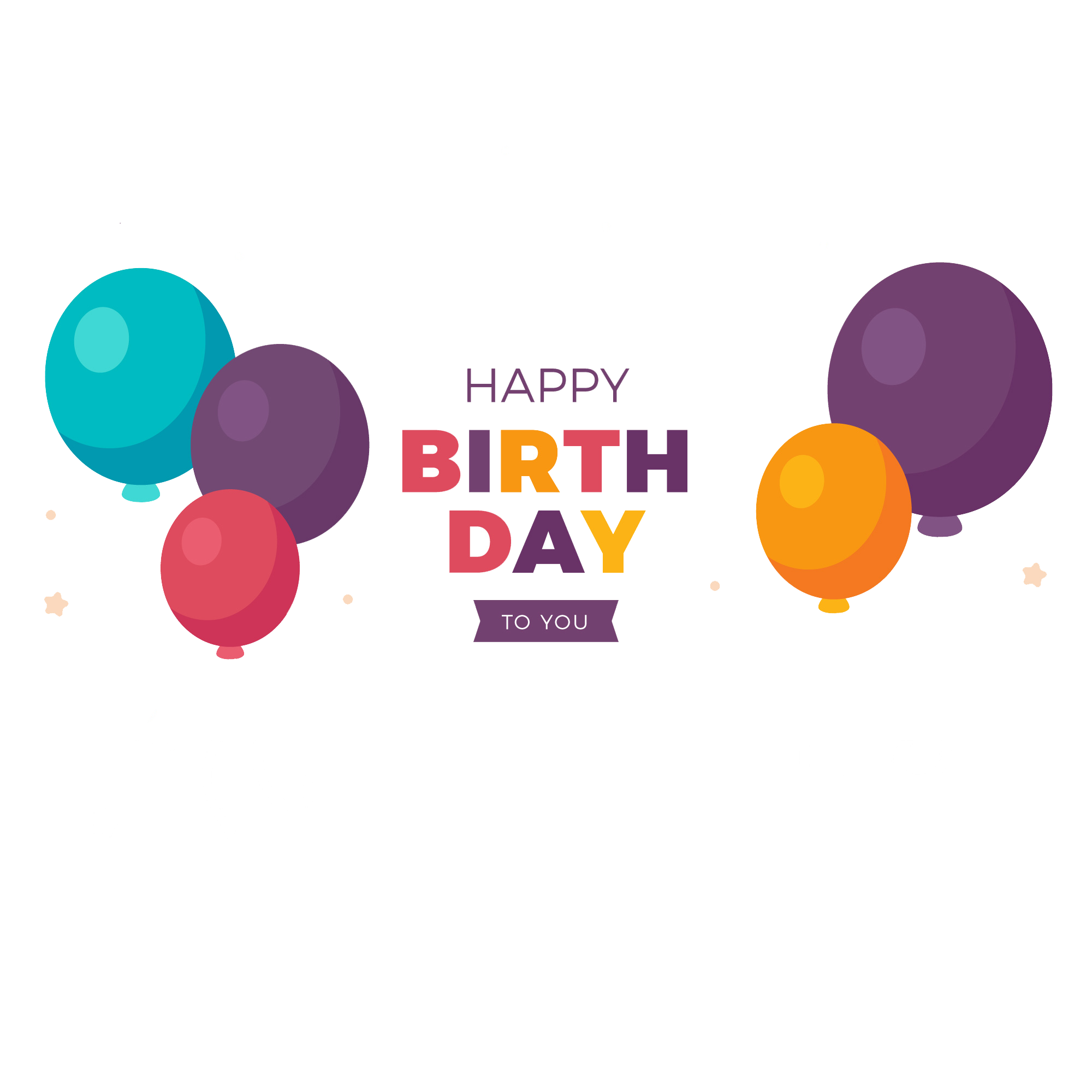 Birthday png text. Happy file peoplepng com