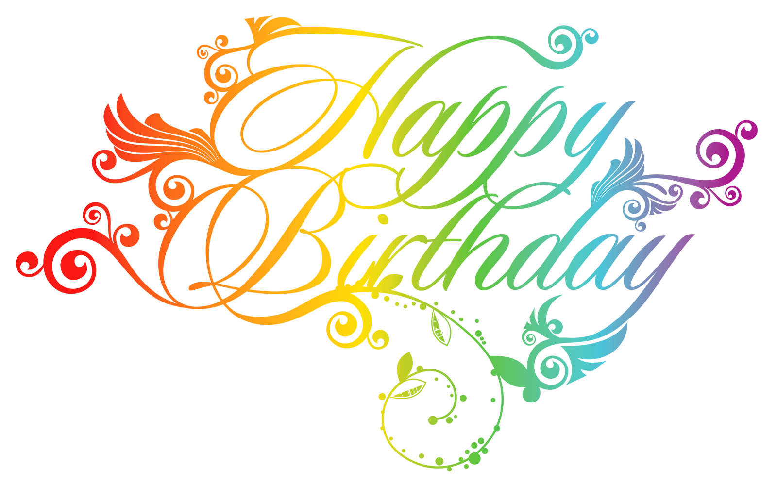 Birthday png text. Happy design elements free