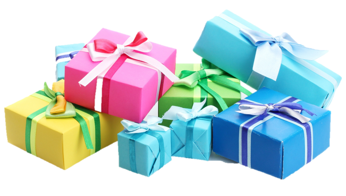 Vector present birthday. Gift transparent png pictures