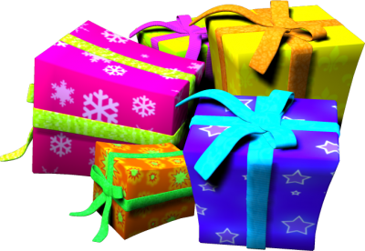Birthday presents png. Download present free transparent