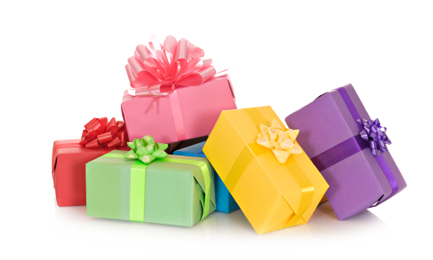 Birthday presents png. Free download clip art