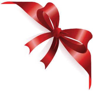 Birthday ribbon png. Images red gift free