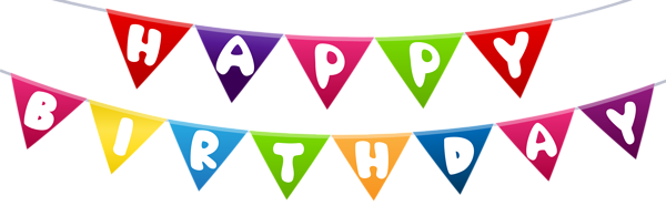 Streamers vector illustrator. Birthday png image