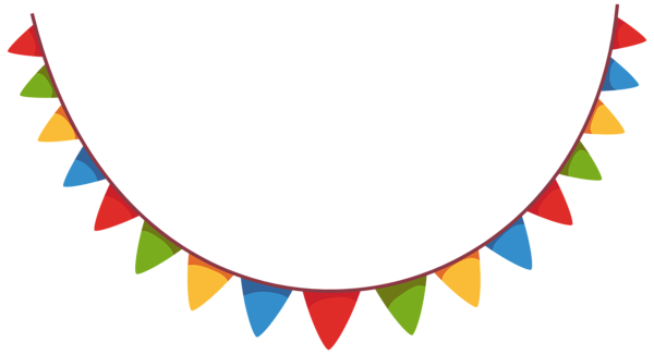 Party streamers png. Streamer decoration clipart picture