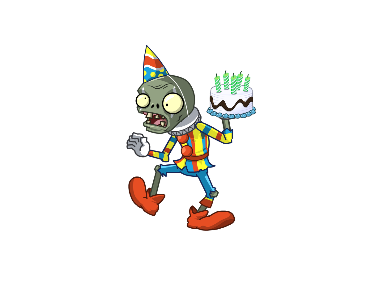 Birthdays plants vs zombies png. On twitter join us