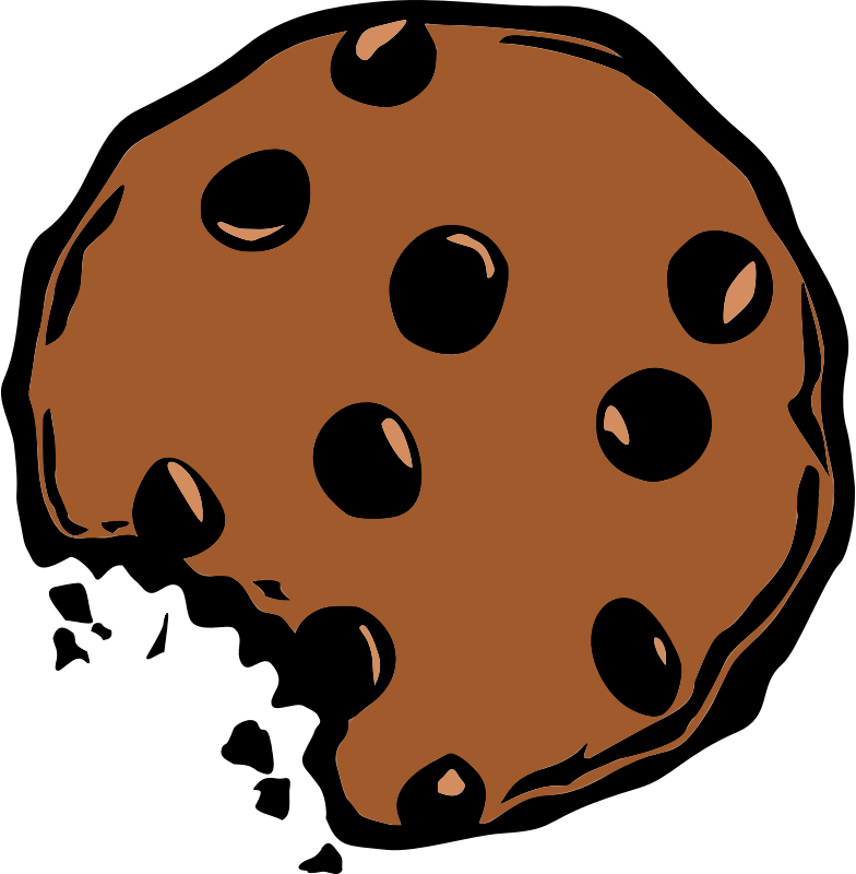 Biscuit drawing art. Collection of free cookies