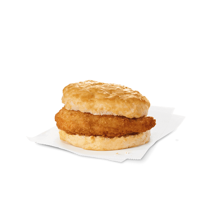Biscuit drawing breakfast sandwich. Home of the original