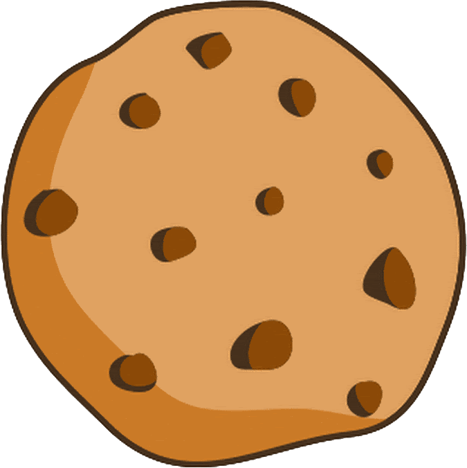 Biscuit drawing oatmeal cookie. Chocolate chip biscuits clip
