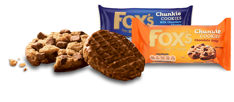 Biscuit drawing packet. Fox s biscuits responds