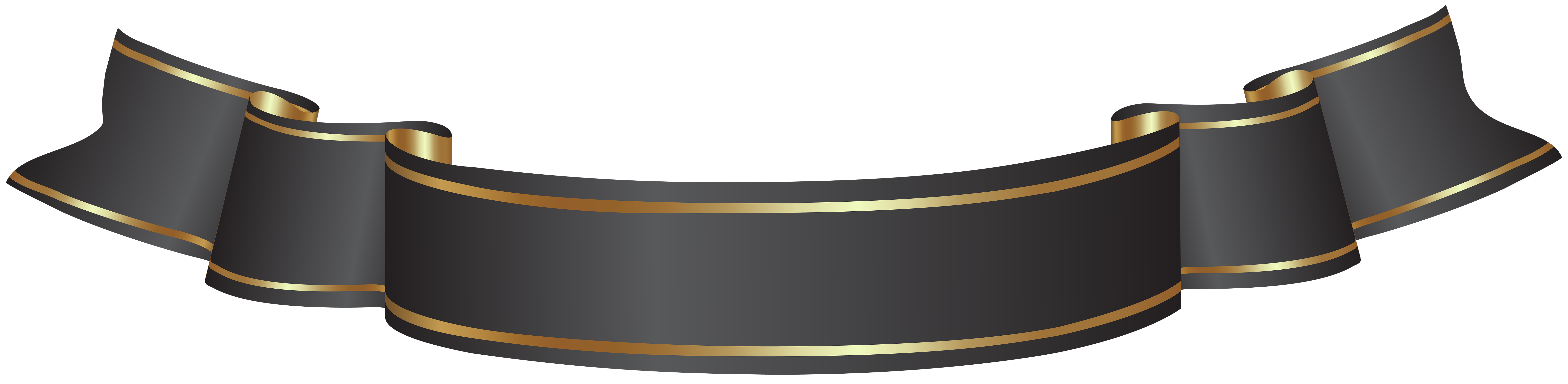 Black and gold banner png. Transparent clip art gallery