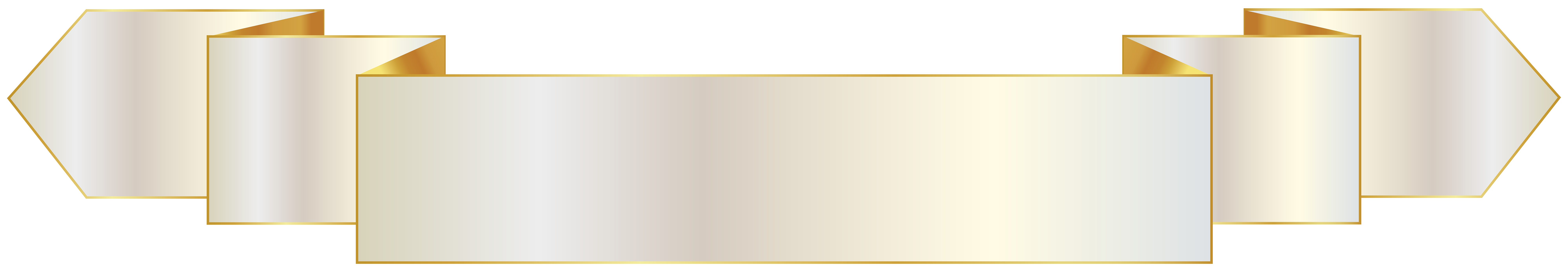 Black and gold banner png. White transparent image gallery