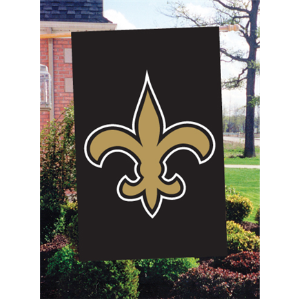 Black and gold banner png. New orleans saints outdoor