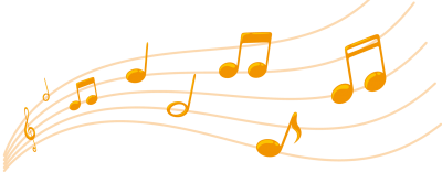 Music note png colorful. Download musical notes free