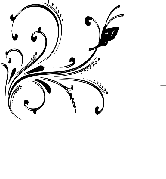 Black and white design png. Clipart