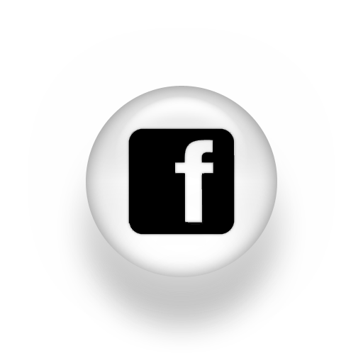 Black and white facebook logo png. Image pearl icon social