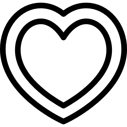 corazon blanco png
