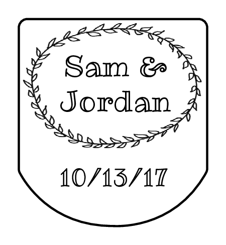 Black and white labels png. Wedding label templates download