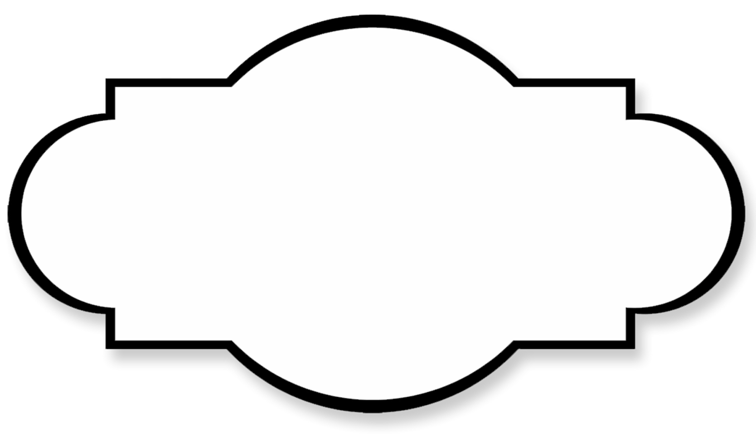 Black and white labels png. Shared simple label