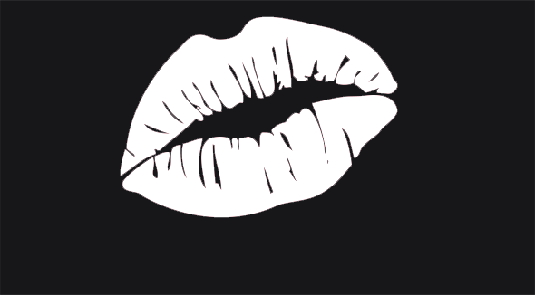 Black and white lips png. Pouty lipzz buy now