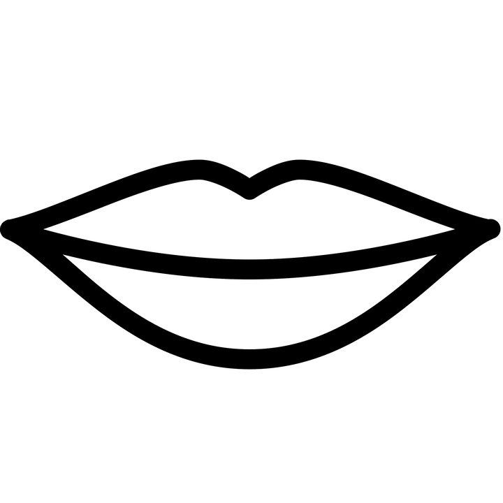 Black and white lips png. Pictures of daily health