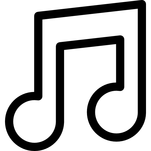 Png white music note. Eighth musical icon