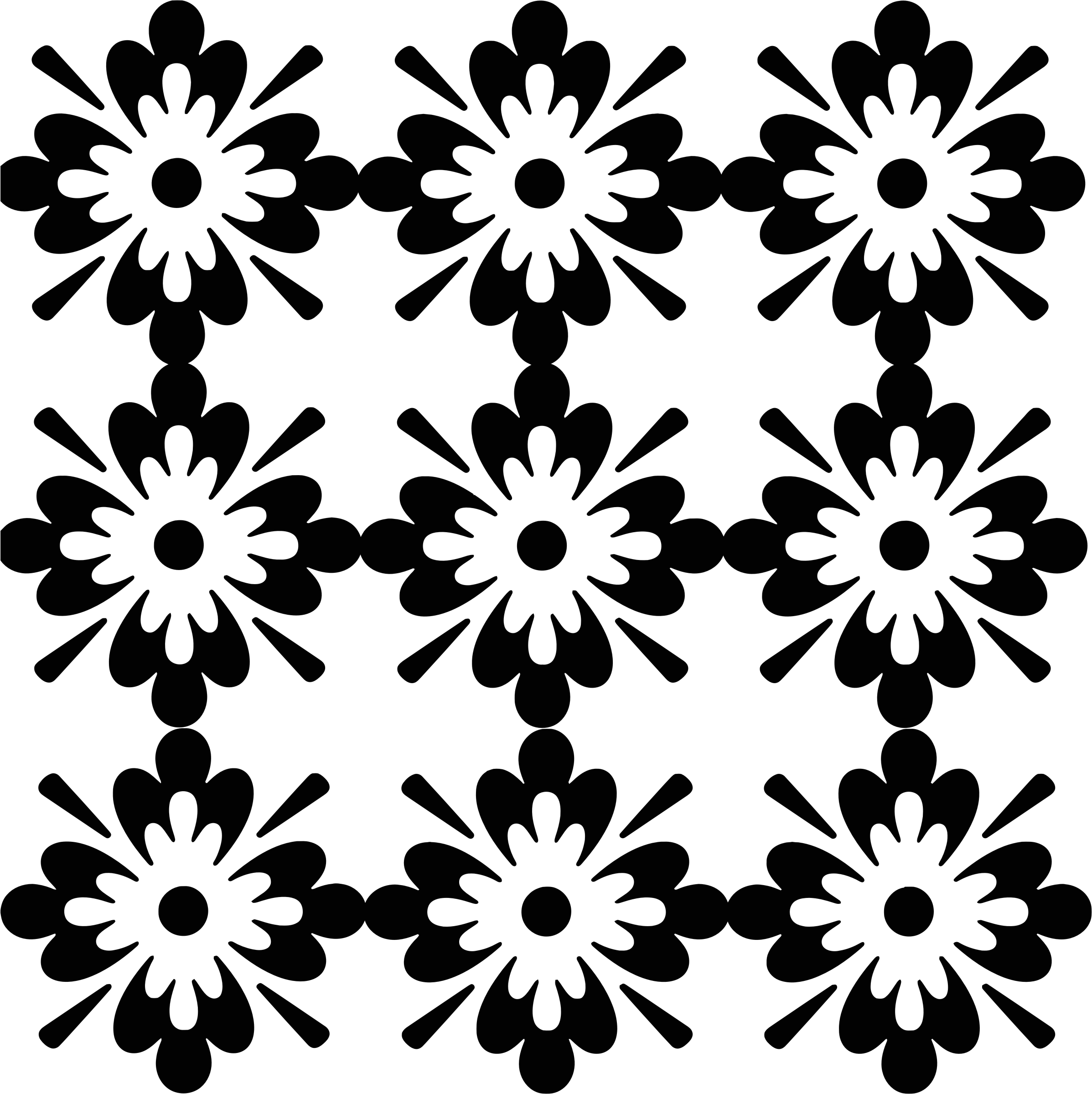 Floral designs patterns png. Clipart black and white