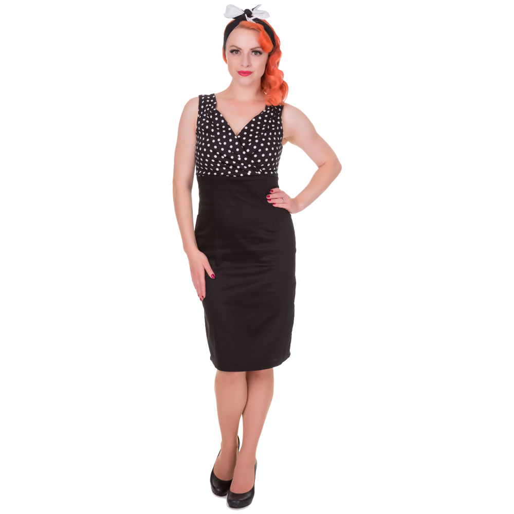 Black and white pin up png. Cheryl fitted glam vintage