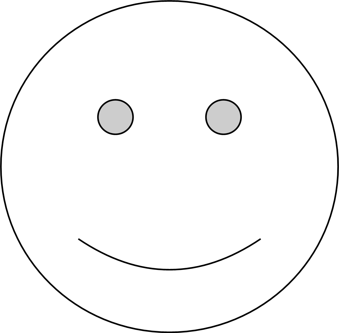 Black and white smiley face png. File wikimedia commons filewhite