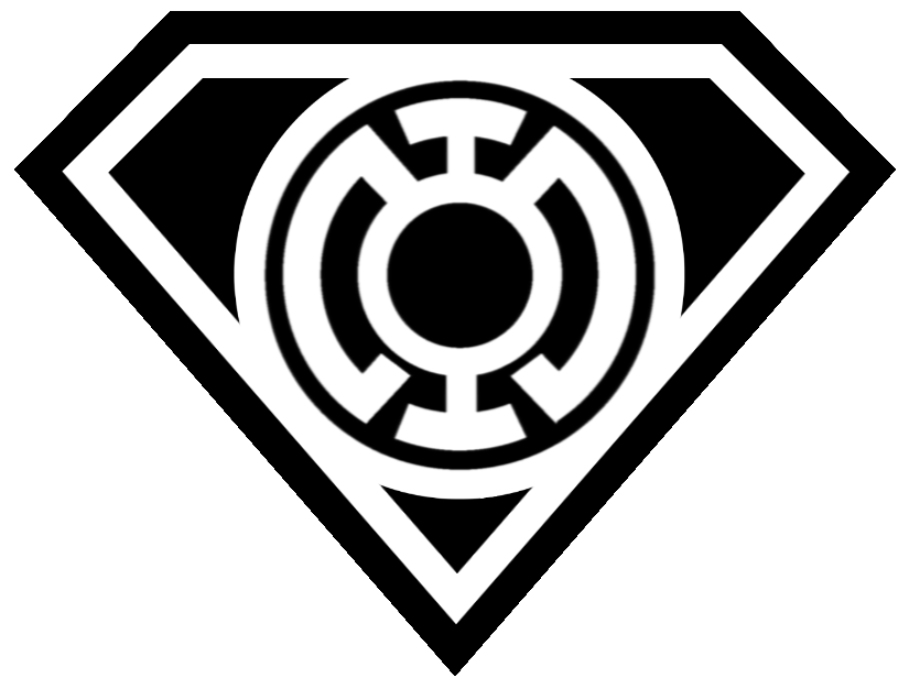 Black and white superman logo png. Free symbol outline download
